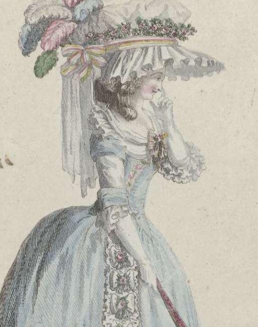 1786 Cabinet Des Modes